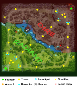 แผนที่ dota2