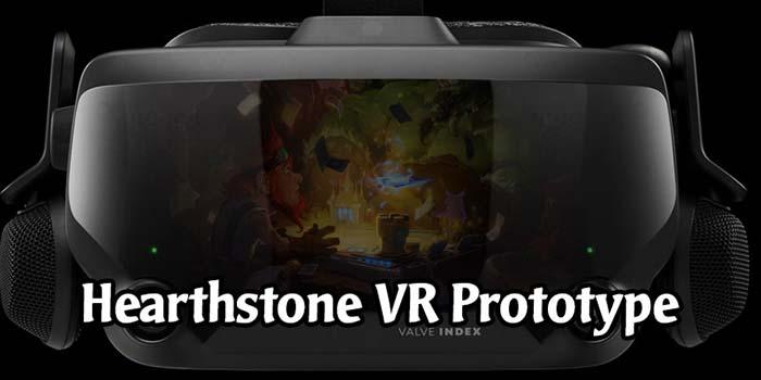 Hearthstone VR