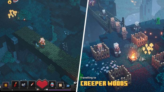 Minecraft Dungeons Creeper Woods