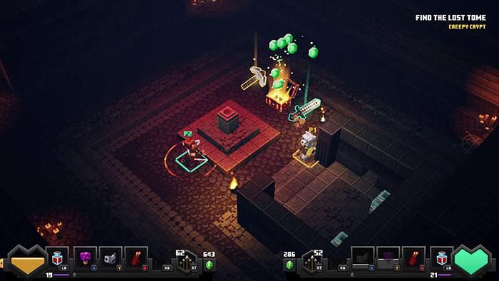 Minecraft Dungeons Creepy Crypt