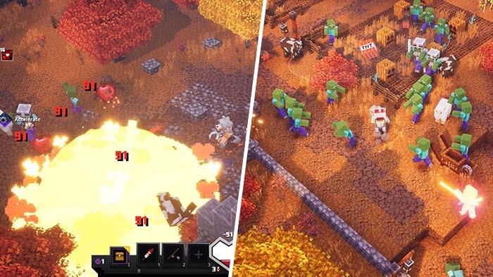 Minecraft Dungeons Pumpkin Pastures
