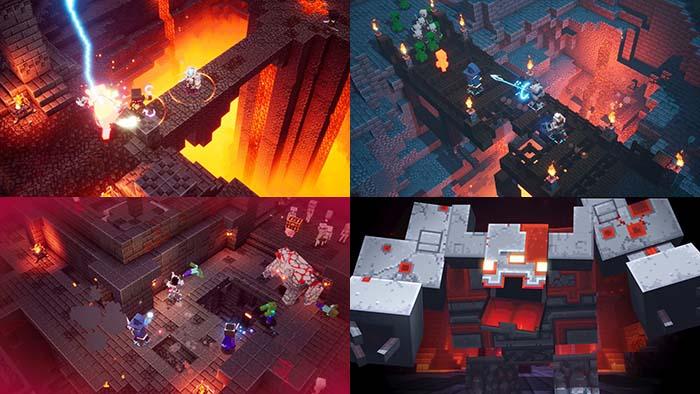 Minecraft Dungeons Redstone Mines