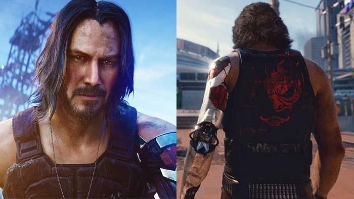Cyberpunk 2077, Johnny Silverhand, Keanu Reeves