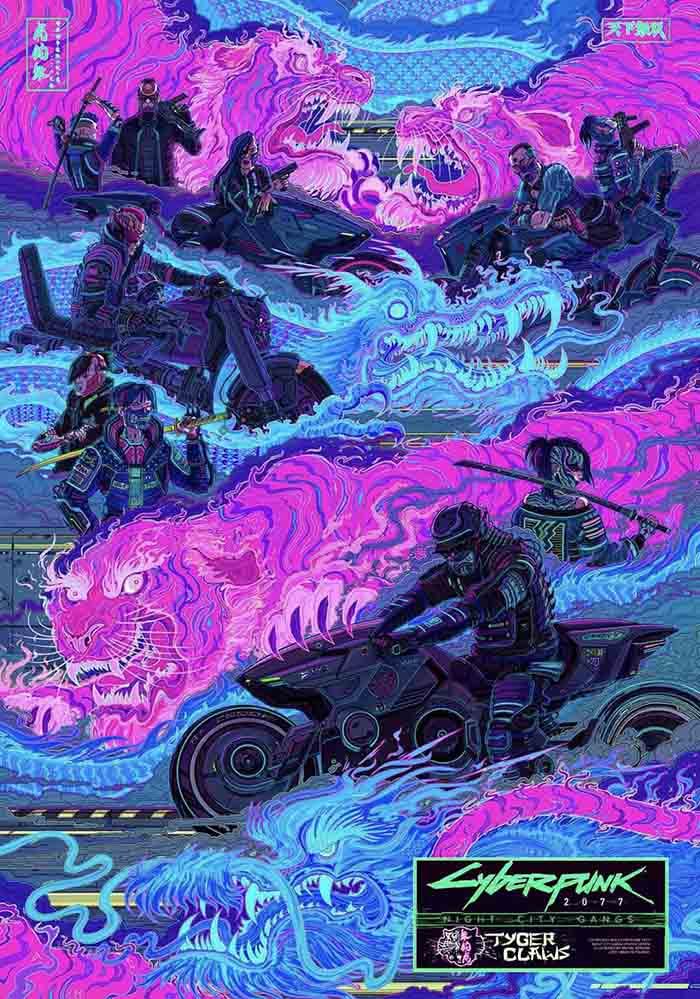 Cyberpunk 2077, Tyger's Claw, Steel Dragons