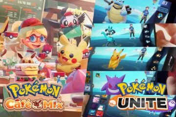 Pokémon Café Mix Pokémon UNITE