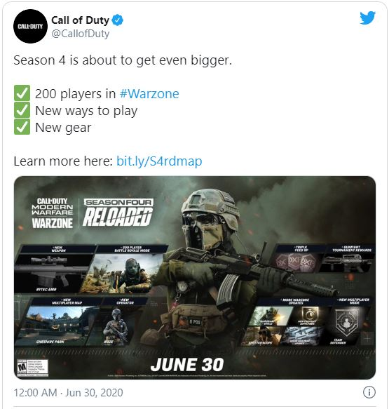 Call of Duty: Warzone 200- Player Mode