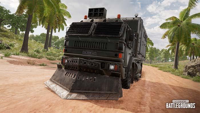 Playerunknown's Battlegrounds Season 8, PUBG Season 8, Loot Truck