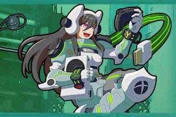 Xbox Anime Girl Mascot