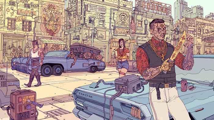 Cyberpunk 2077, Night City Gang, Valentinos