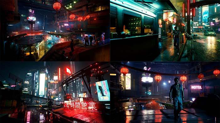 Cyberpunk 2077, Tyger Claws, Japantown