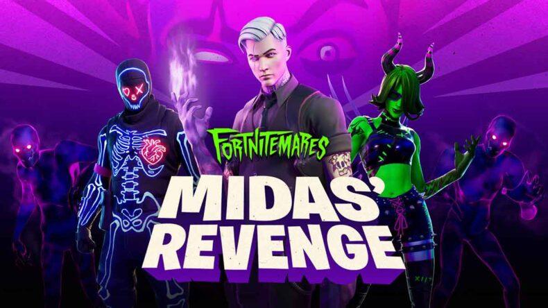 Fortnitemares 2020 Midas' Revenge