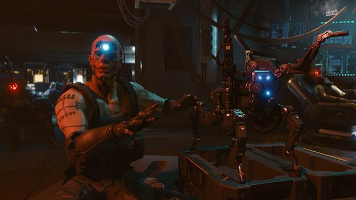 Cyberpunk 2077, Gang of Night City, Maelstrom, Dum Dum Flathead, Spiderbot