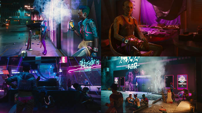 Cyberpunk 2077 Night of Night City Moxes