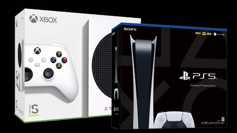 PlayStation 5 Digital Edition, Xbox Series S