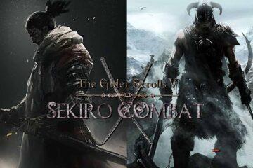 The Elder Scrolls 5: Skyrim, Sekiro mod