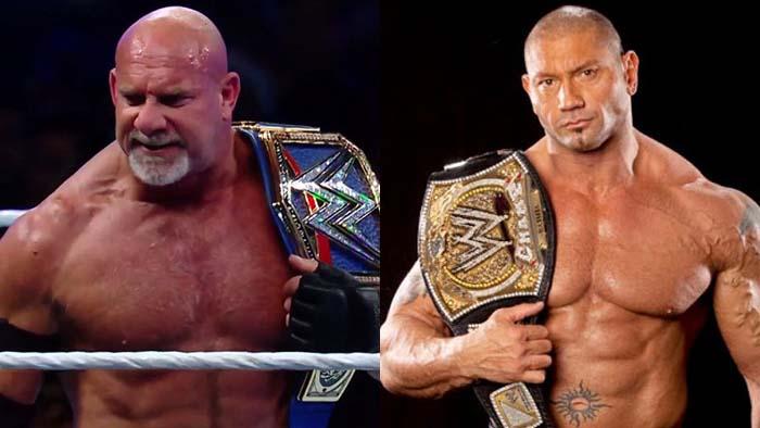 WWE 2K Battlegrounds, The Uso Brothers, Bill Goldberg, Batista
