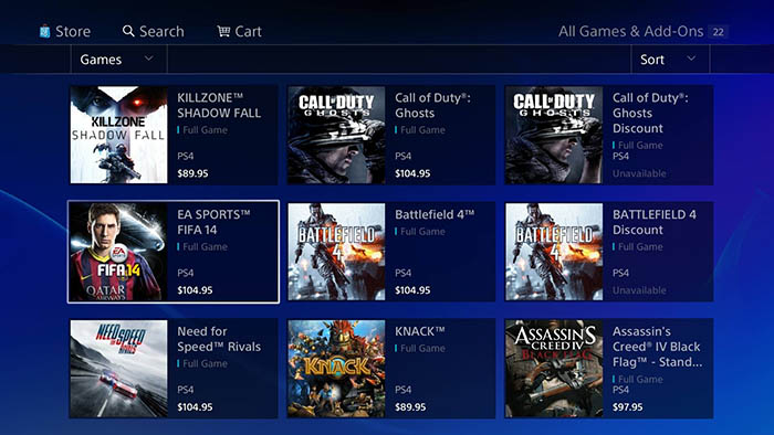 PlayStation 5, PlayStation 4, PSN