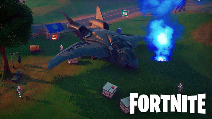 Fortnite, Marvel, Quin-Jets