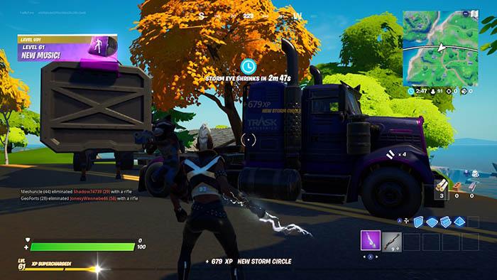 Fortnite, Marvel, Transport Truck