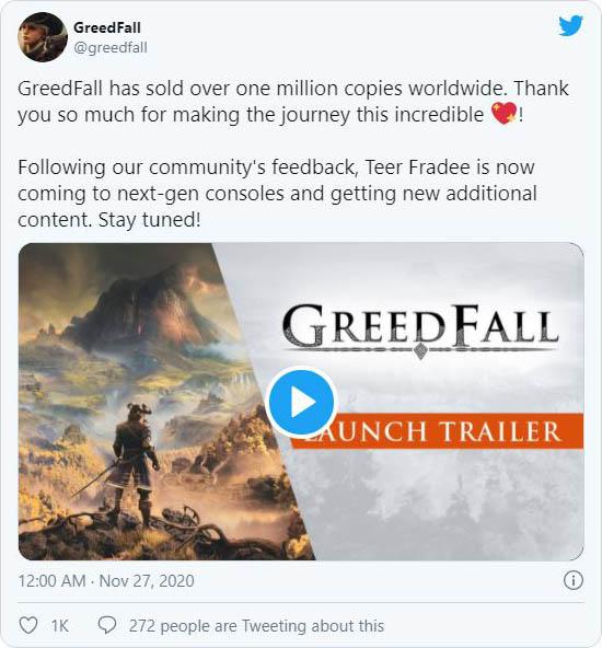 GreedFall twitter