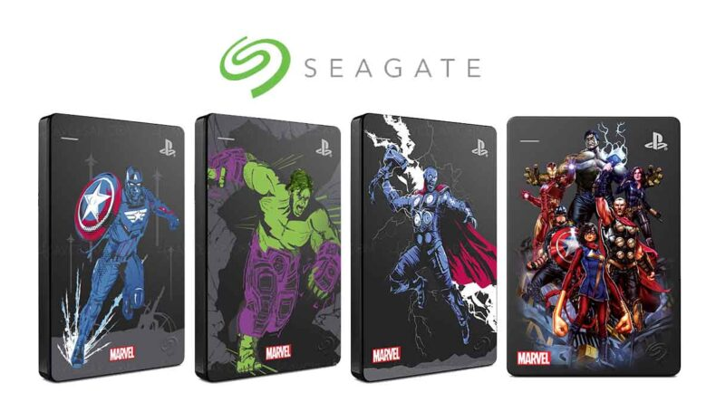 Seagate Marvel Avengers Limited Edition Game Drive