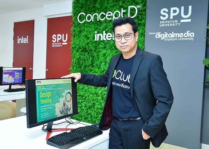 Acer ConceptD, D Club, Digital Club, ConceptD 5, SPU, ConceptD, กมล จิราพงษ์