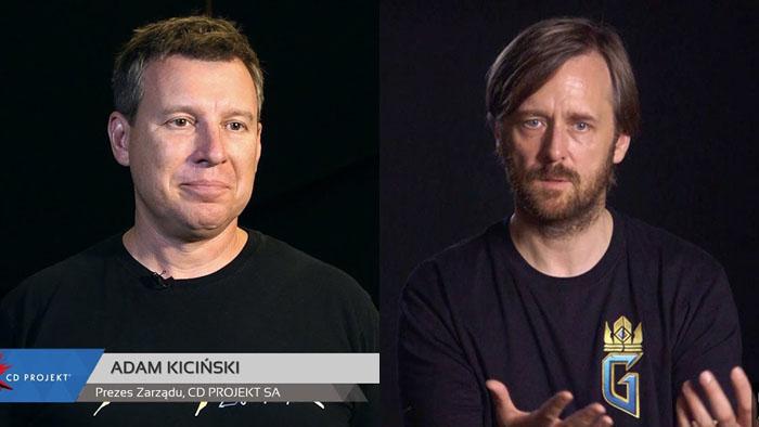 CD Projekt Red, Cyberpunk 2077, Adam Kiciński, Marcin Iwiński