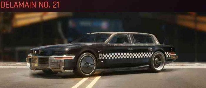 Cyberpunk 2077, All Vehicles, พาหนะทั้งหมดภายในเกม, Delamain No. 21