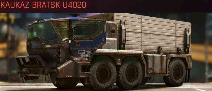 Cyberpunk 2077, All Vehicles, พาหนะทั้งหมดภายในเกม, Kaukaz Bratsk U4020