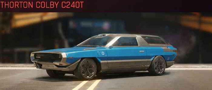 Cyberpunk 2077, All Vehicles, พาหนะทั้งหมดภายในเกม, Thorton Colby C240T