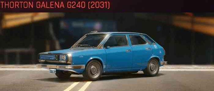 Cyberpunk 2077, All Vehicles, พาหนะทั้งหมดภายในเกม, Thorton Galena G240 (2031)