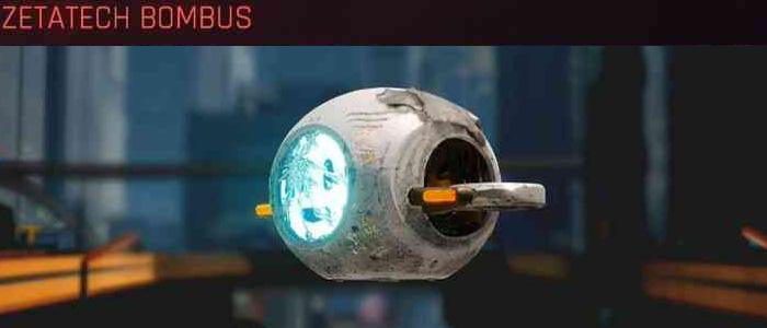 Cyberpunk 2077, All Vehicles, พาหนะทั้งหมดภายในเกม, Zetatech Bombus