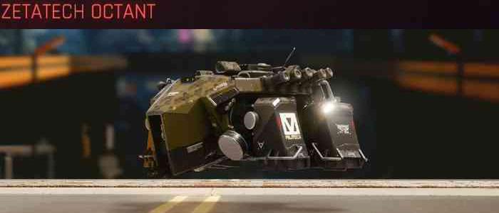 Cyberpunk 2077, All Vehicles, พาหนะทั้งหมดภายในเกม, Zetatech Octant