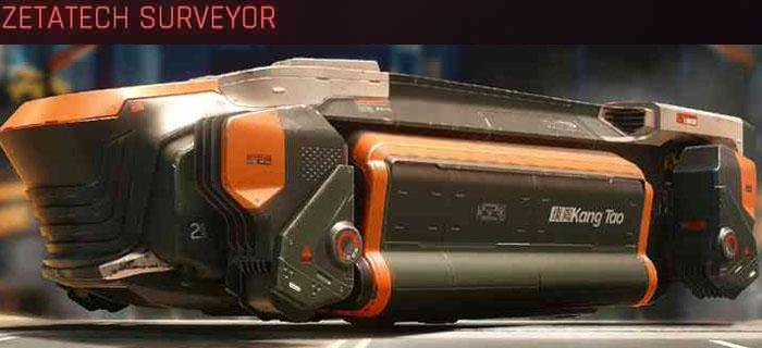 Cyberpunk 2077, All Vehicles, พาหนะทั้งหมดภายในเกม, Zetatech Surveyor