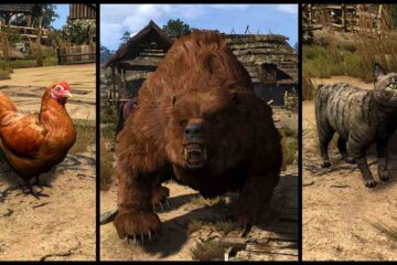 The Witcher 3: Wild Hunt, HDAR - HD Animals Reworked