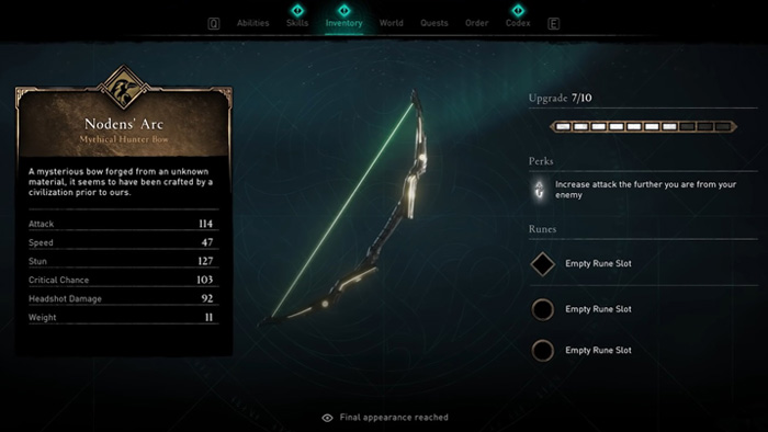 Assassin's Creed Valhalla, Norden's Arc