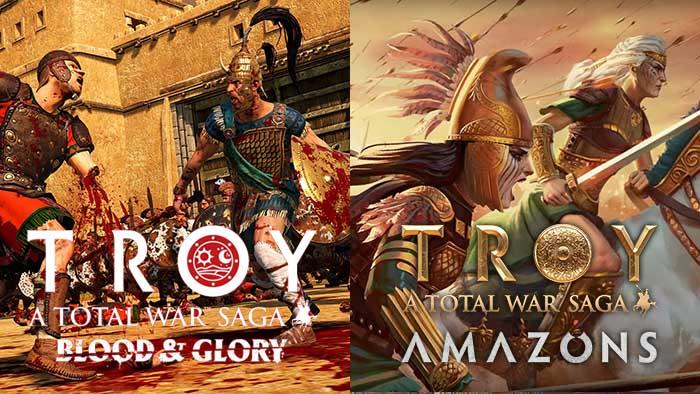 Total War Saga: Troy, Blood & Glory DLC, Amazon Faction Pack, Hippolyta, Penthesilea